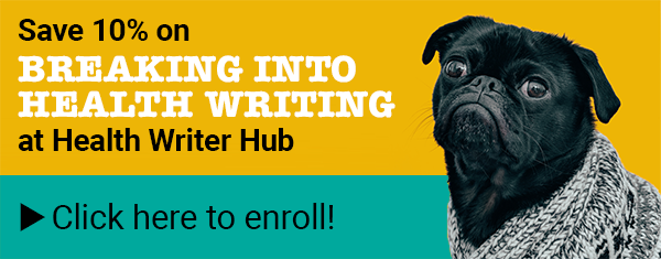 Breaking into Health Writing Discount Promo Code