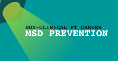 MSD Prevention consultant