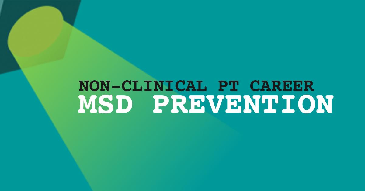 MSD Prevention