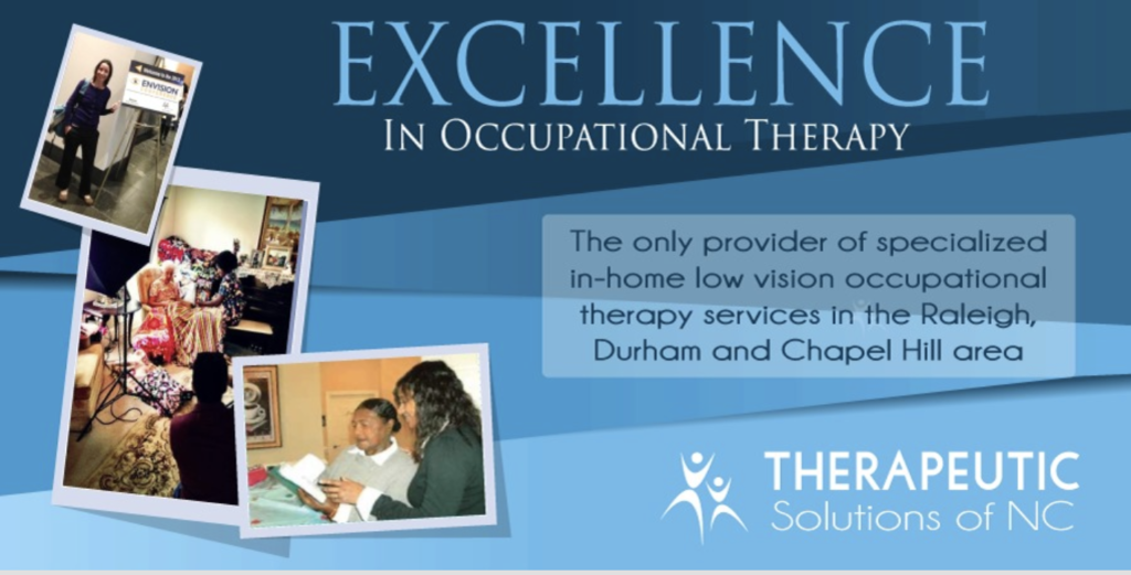 Therapeutic Solutions of North Carolina, started by Tomeico Faison, OT