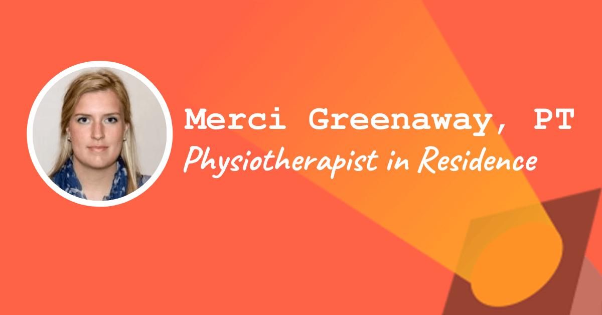 Merci Greenaway - Physiotherapist in Residence at Eumotus