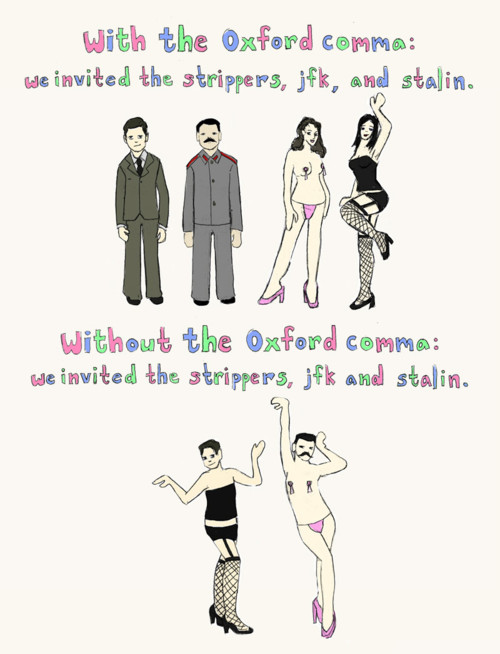 oxford comma health writer grammar basics