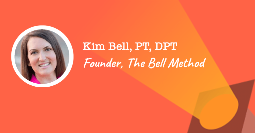 kimberley bell DPT founder of the bell method