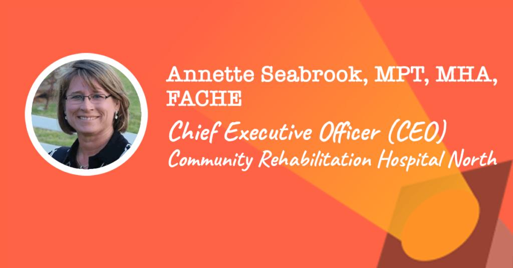 Chief Executive Officer ommunity Rehabilitation Hospital South
