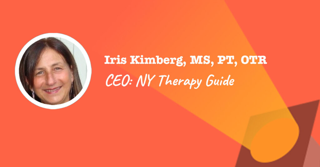 Private Practice Consultant Iris Kimberg NY Therapy Guide