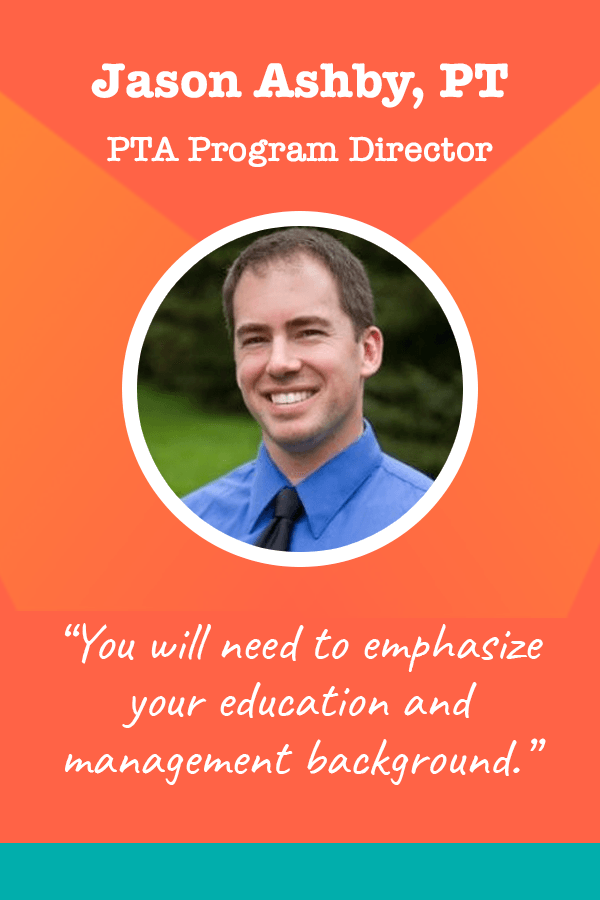 Quote by Jason Ashby - PTA Program Director
