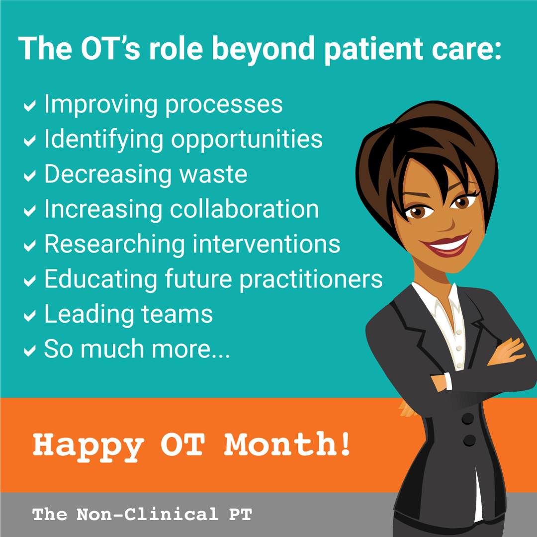 Non-Clinical Occupational Therapy (OT) Jobs | The Non