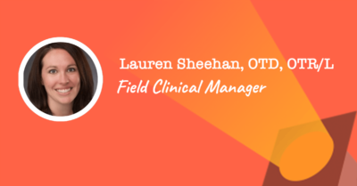 field clinical manager at rehab tech startup NeuroLutions - Lauren Sheehan