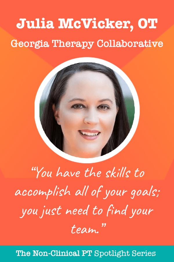 Quote by Julia McVicker of Georgia Therapy Collaborative