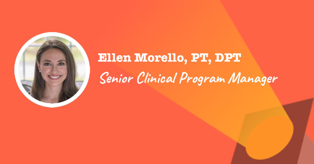 senior clinical program manager at Physera - Ellen Morello