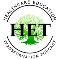 healthcare education transformation podcast logo