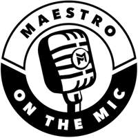 maestro on the mic podcast logo