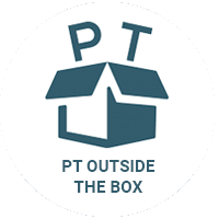 PT Outside the Box Podcast Logo