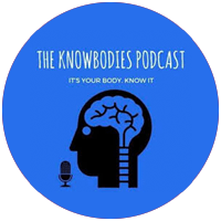 the knowbodies podcast logo