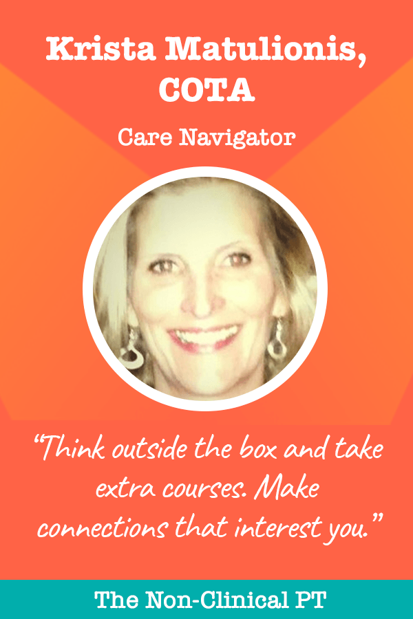 Krista Matulionis Care Navigator Quote