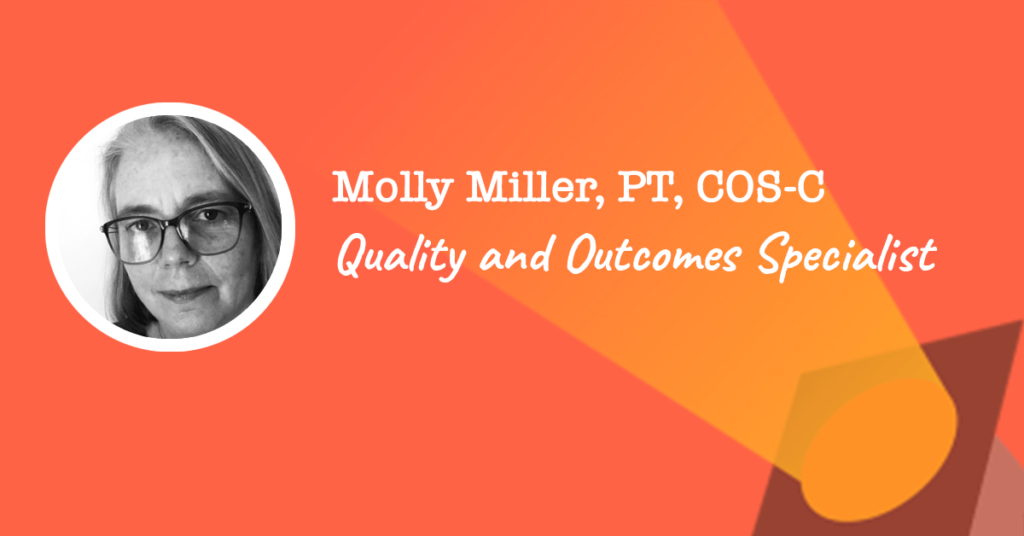 Quality and Outcomes Specialist - Molly Miller