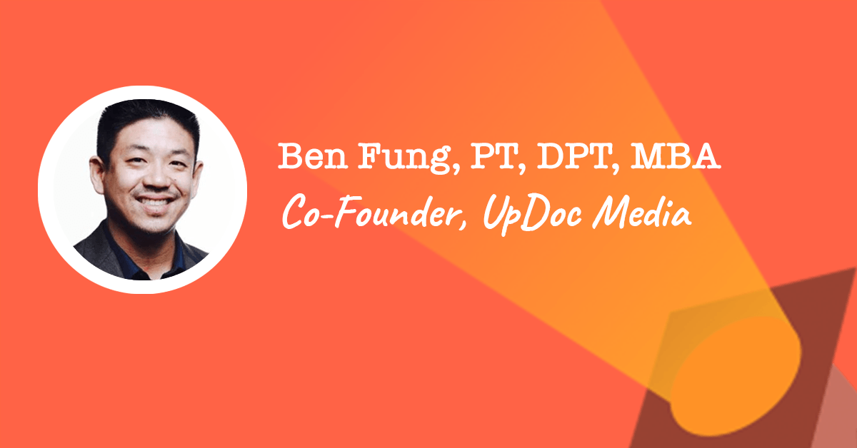 Co-Founder of UpDoc Media - Ben Fung | PTPreneur Week 2019