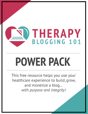 The therapy blogging 101 power pack can help you go into entrepreneurship, which is one of many non-clinical physical therapy jobs out there.