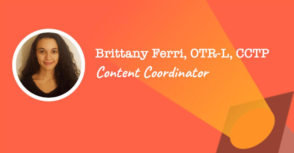 Content Coordinator : Brittany Ferri