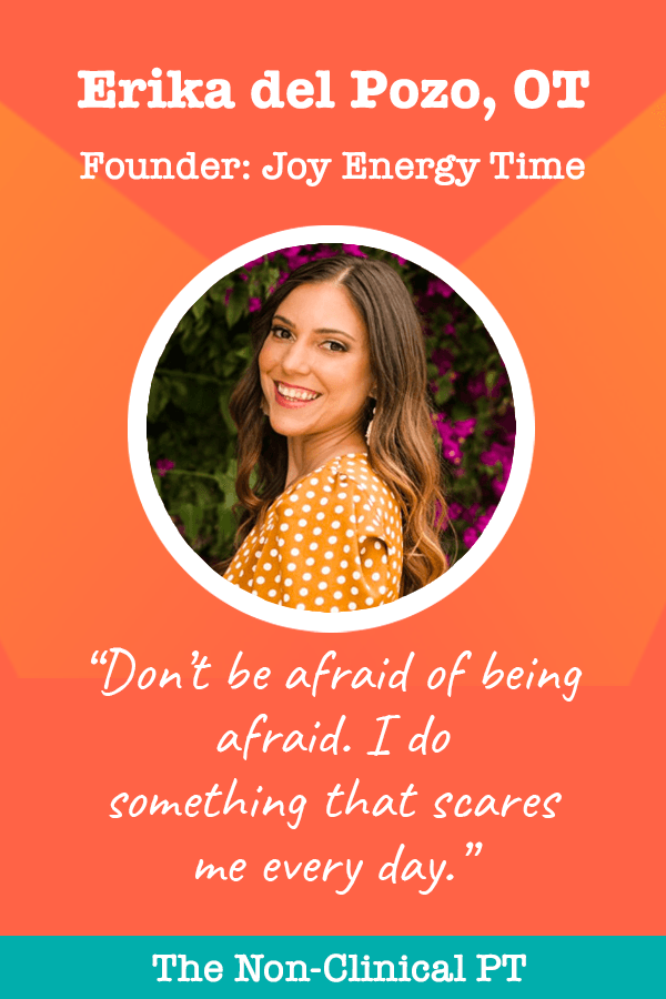 Erika del Pozo of Joy Energy Time Quote