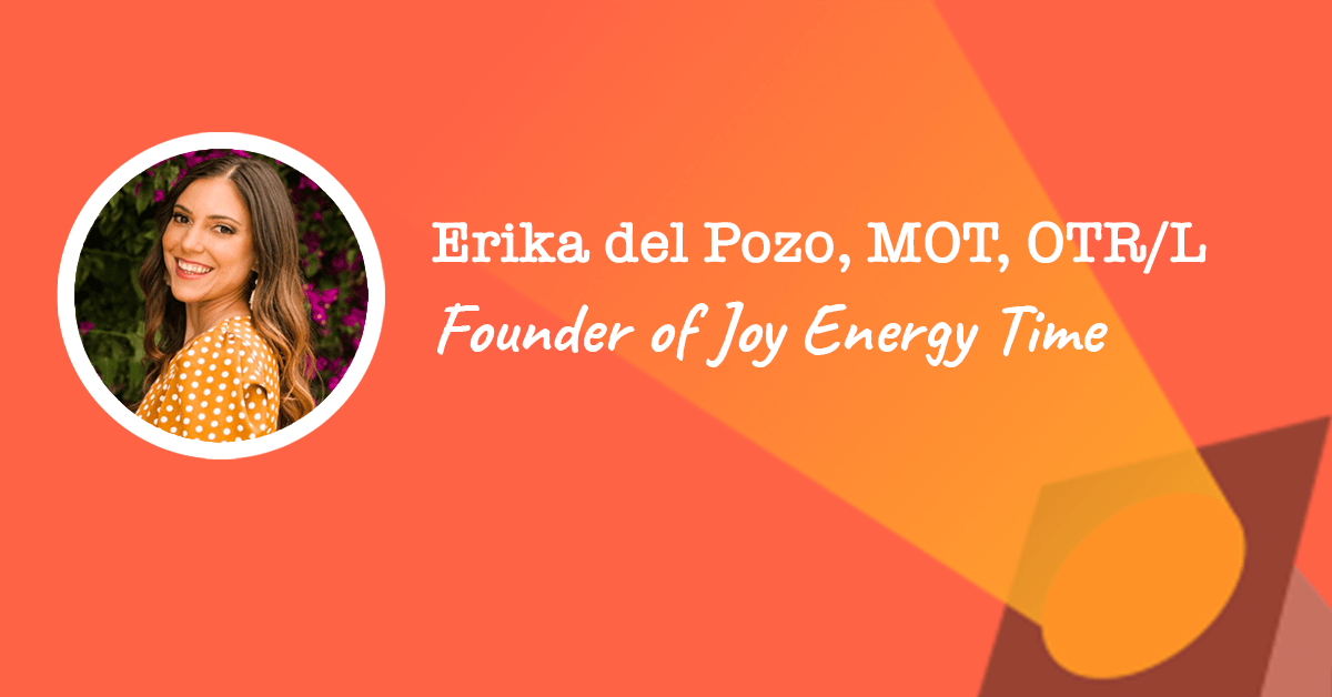 Joy Energy Time founder Erika del Pozo