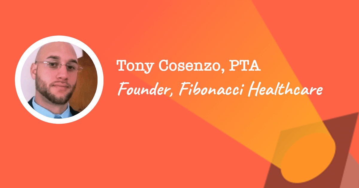 Tony Cosenzo - Founder of Fibonacci Healthcare | PTPreneur Week 2019