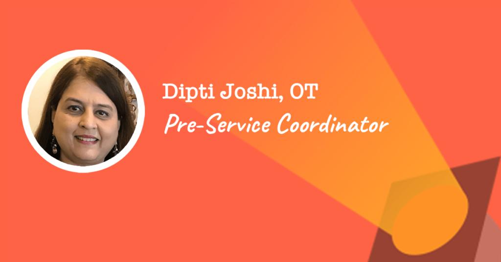 Pre-Service Coordinator at naviHealth Dipti Joshi