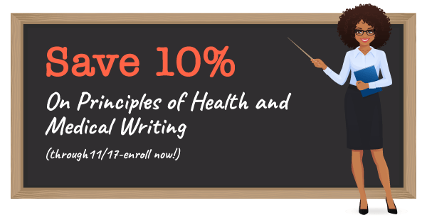 principles of health and medical writing discount