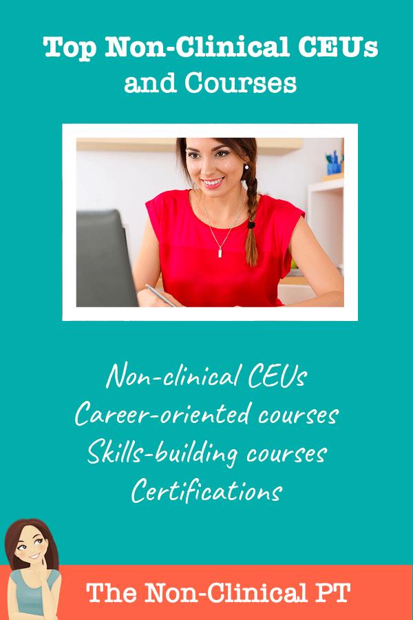 non-clinical ceus and courses list