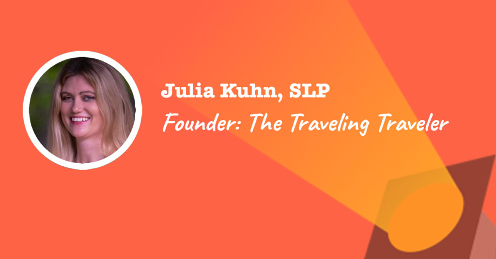 Julia Kuhn is the founder of The Traveling Traveler