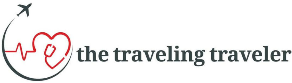 The Traveling Traveler Logo