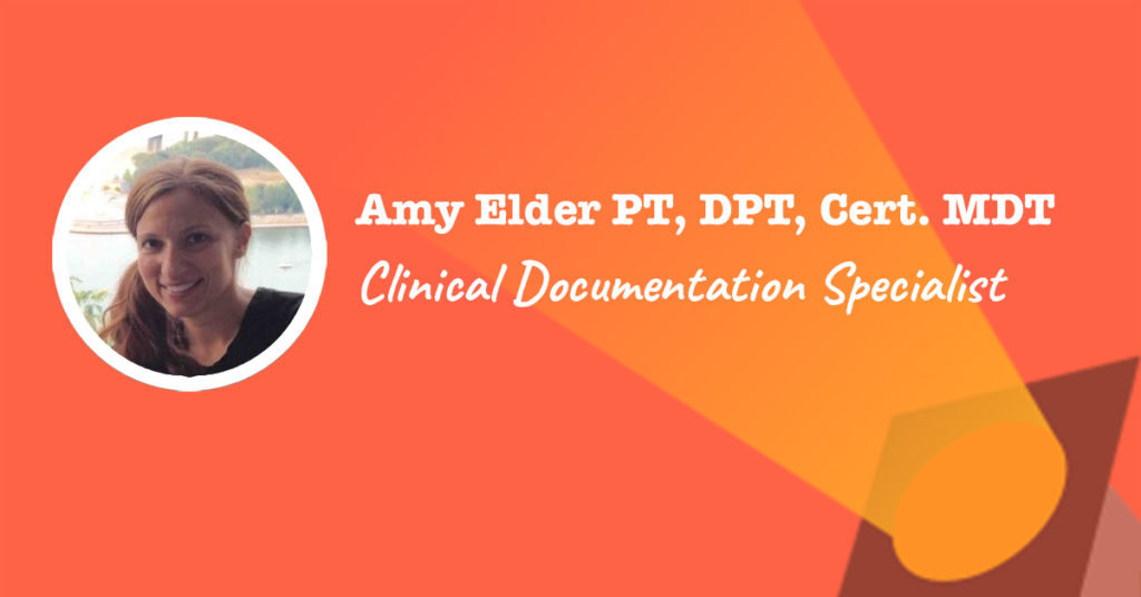 Clinical Documentation Specialist spotlight on Amy Elder