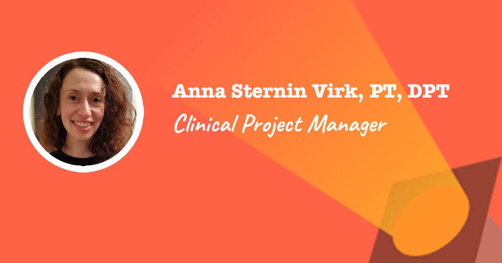 Spotlight on Anna Sternin Virk - Clinical Project Manager at Intuitive