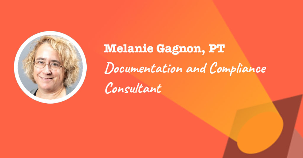 Documentation and Compliance Consultant at Therapy 8 Consulting - Melanie Gagnon's spotlight