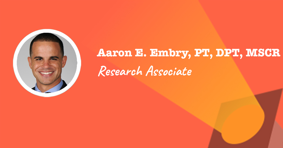 physical therapy research associate