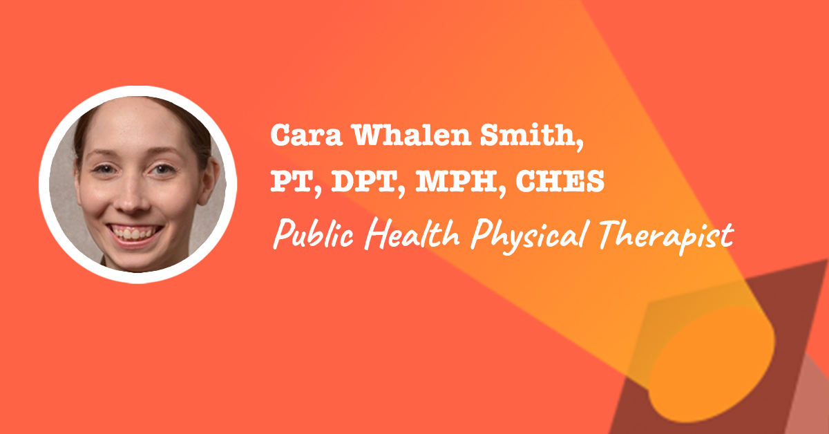 Public health project manager cara whalen smith spotlight