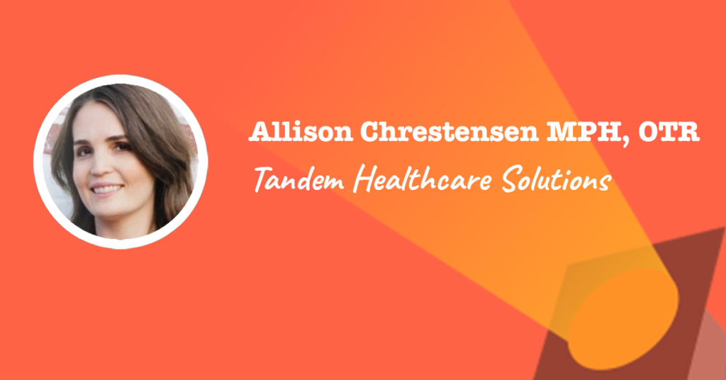 tandem healthcare solutions principal - Allison Chrestensen spotlight