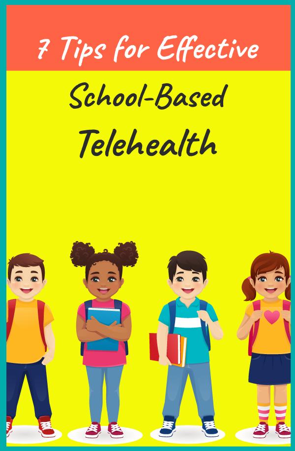school-based telehealth tips pin