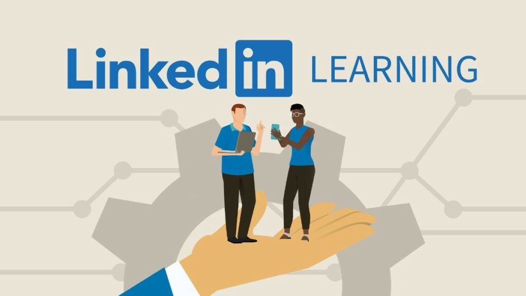 LinkedIn Learning logo for non-clinical courses