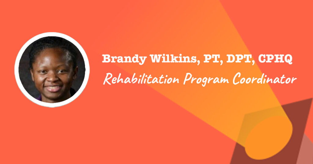 system rehabilitation program coordinator
