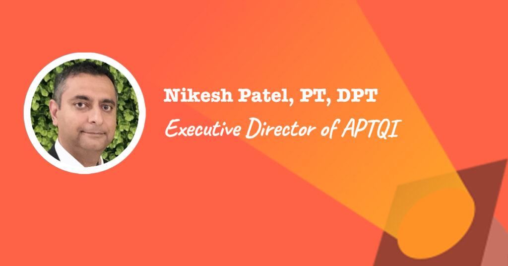 APTQI Executive Director, Nikesh Patel