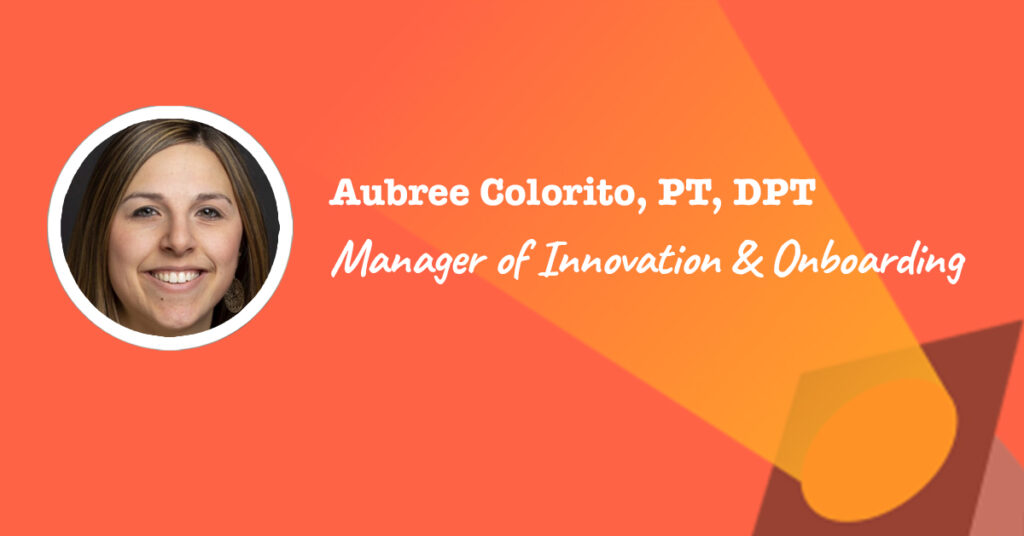manager of innovation and onboarding - aubree colorito spotlight