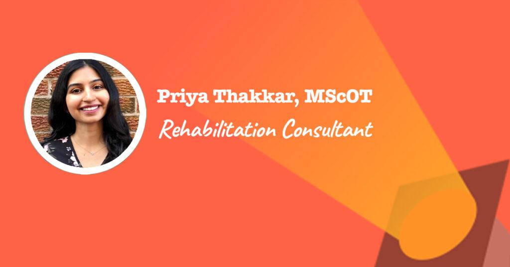 Rehabilitation Consultant