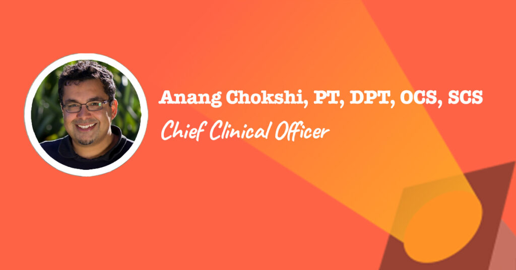 Chief Clinical Officer Anang Chokshi