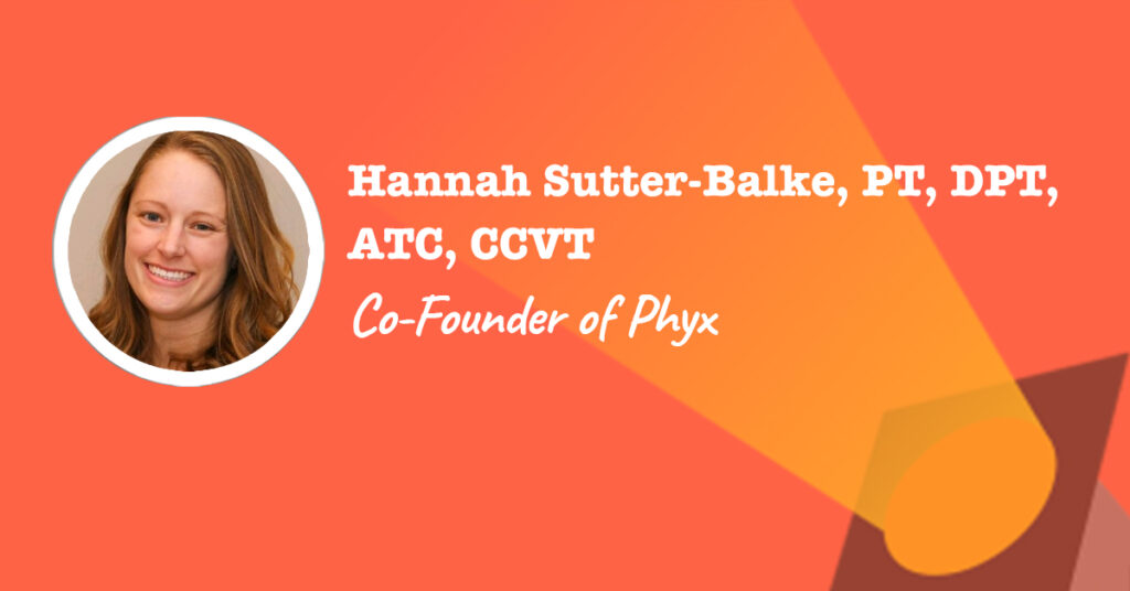 co-founder of online physical therapy platform phyx